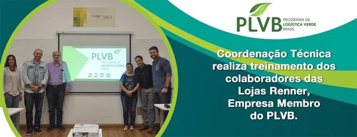 Lojas Renner nova Empresa Membro do PLVB envia colaboradores para treinamento