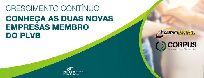 As novas Empresas Membro do PLVB