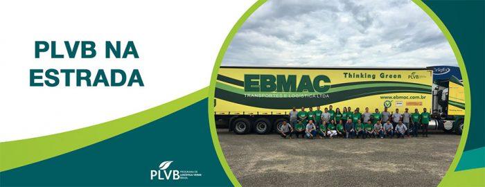 """Nova frota da EBMAC Empresa Membro Líder do PLVB tem """"veículo verde"""""""