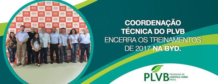 Coordenação Técnica encerra os treinamentos de 2017 na BYD